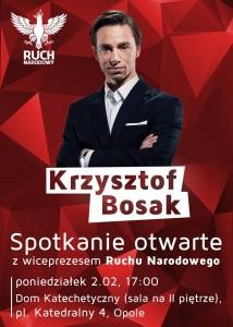 Krzysztof Bosak w Opolu 02-02-2015