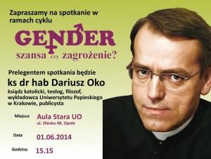 Ks. Dariusz Oko w Opolu 01-06-2014