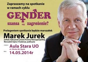 Marek Jurek w Opolu 14-05-2014