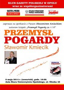 Sławomir Kmiecik w Opolu 08-05-2014